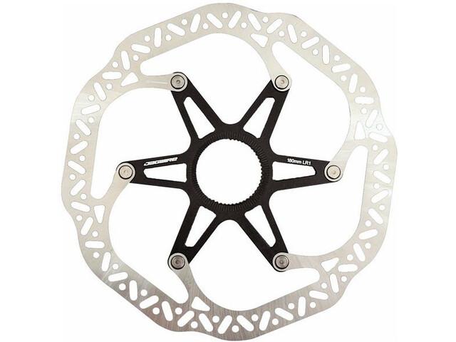 Jagwire Pro LR1 Bremsscheibe Centerlock silver/black